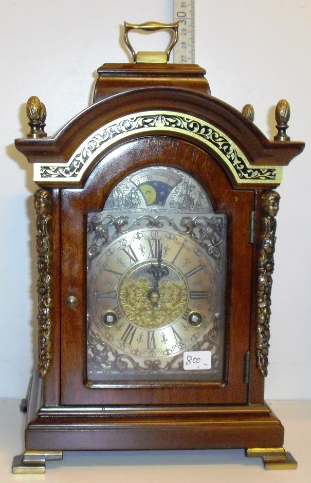 GAMLE URE Clocks Uhren Gustaw Becker Junghans ANTIK
